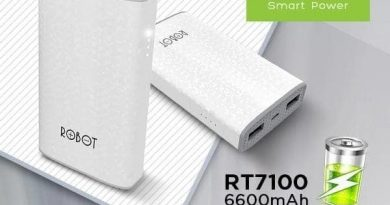 Review Powerbank Robot RT7100
