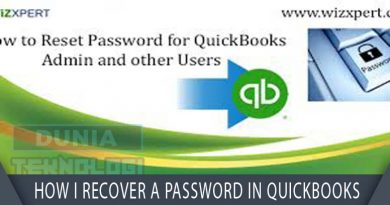 How I recover a password in QuickBooks?