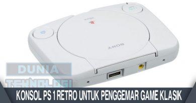 Konsol PS 1 Retro Untuk Penggemar Game Klasik
