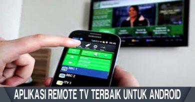 Aplikasi Remote TV Terbaik Untuk Android
