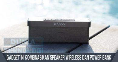 Gadget Ini Kombinasikan Speaker Wireless dan Power Bank