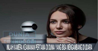 Kamera Keamanan Pertama Di Dunia yang Bisa Mengambang Di Udara