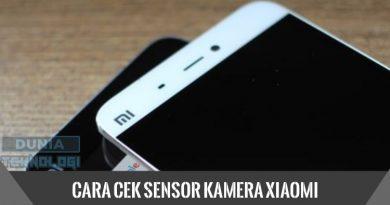 Cara Cek Sensor Kamera Xiaomi