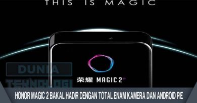 Honor Magic 2 Bakal Hadir dengan Total Enam Kamera dan Android Pie