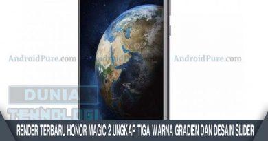 Render Terbaru Honor Magic 2 Ungkap Tiga Warna Gradien dan Desain Slider