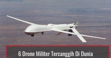 Drone Militer Tercanggih