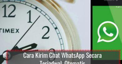 cara kirim chat WhatsApp secara terjadwal