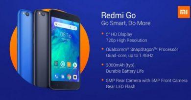 Redmi Go Resmi Diumumkan dengan Harga Rp1,2 Jutaan