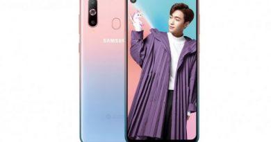 Samsung Galaxy A8s Varian Warna Unicorn Pink Telah Diumumkan