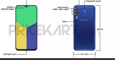 Bocoran Samsung Galaxy M30, Ungkap Dimensi dan Layout