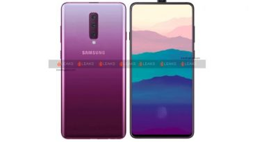 Render Konsep Samsung Galaxy A90 Perlihatkan Kamera Selfie Pop-Up dan Triple-Kamera