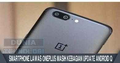 Smartphone Lawas OnePlus Masih Kebagian Update Android Q