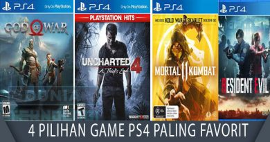 4 Pilihan Game PS4 Paling Favorit