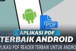 Aplikasi PDF Reader Terbaik Untuk Android