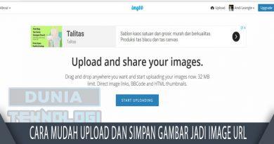 Cara Mudah Upload Dan Simpan Gambar Jadi Image Url