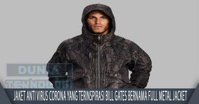 Jaket Anti Virus Corona yang Terinspirasi Bill Gates Bernama Full Metal Jacket