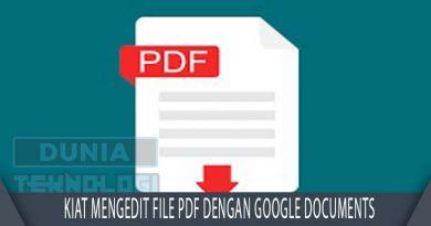 Kiat mengedit file PDF dengan Google Documents