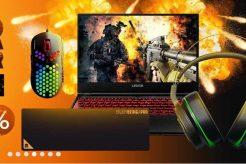 Laptop Gahar dan Aksesoris Diskon 60% dari Lazada