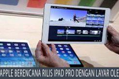 Apple Berencana Rilis iPad Pro dengan Layar OLED