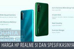 Harga HP Realme 5i dan Spesifikasinya