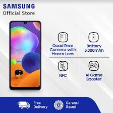 Harga dan SpeHarga Samsung Galaxy A31 di Indonesia