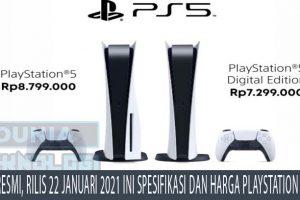 Resmi, Rilis 22 Januari 2021 Ini Spesifikasi dan Harga Playstation 5