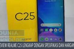 Review Realme C25 Lengkap Dengan Spesifikasi Dan Harganya