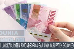 Gaji UMR Kabupaten Bojonegoro dan Gaji UMK Kabupaten Bojonegoro
